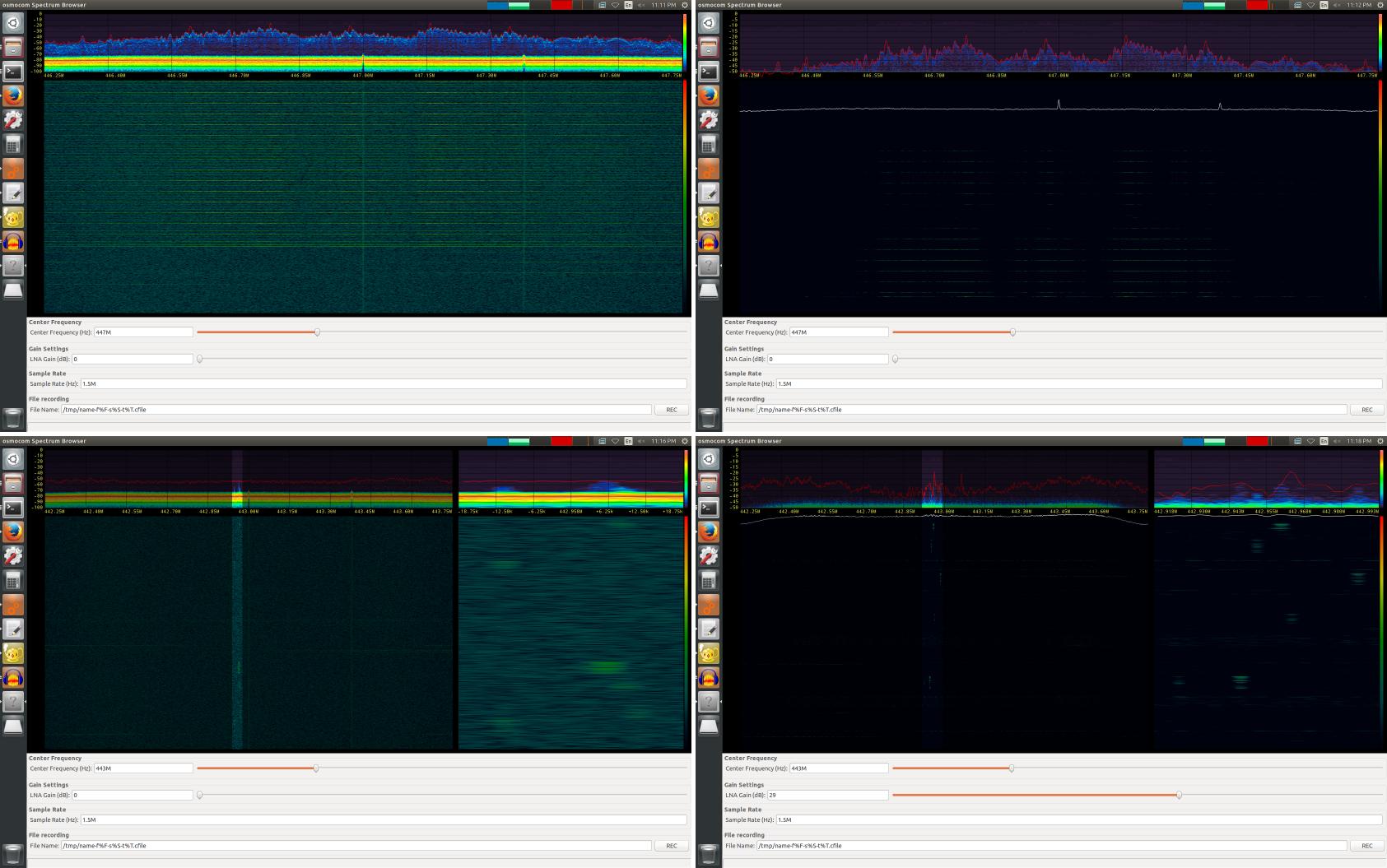 Why use – Fosphor, a GNU Radio real-time spectrum analyzer