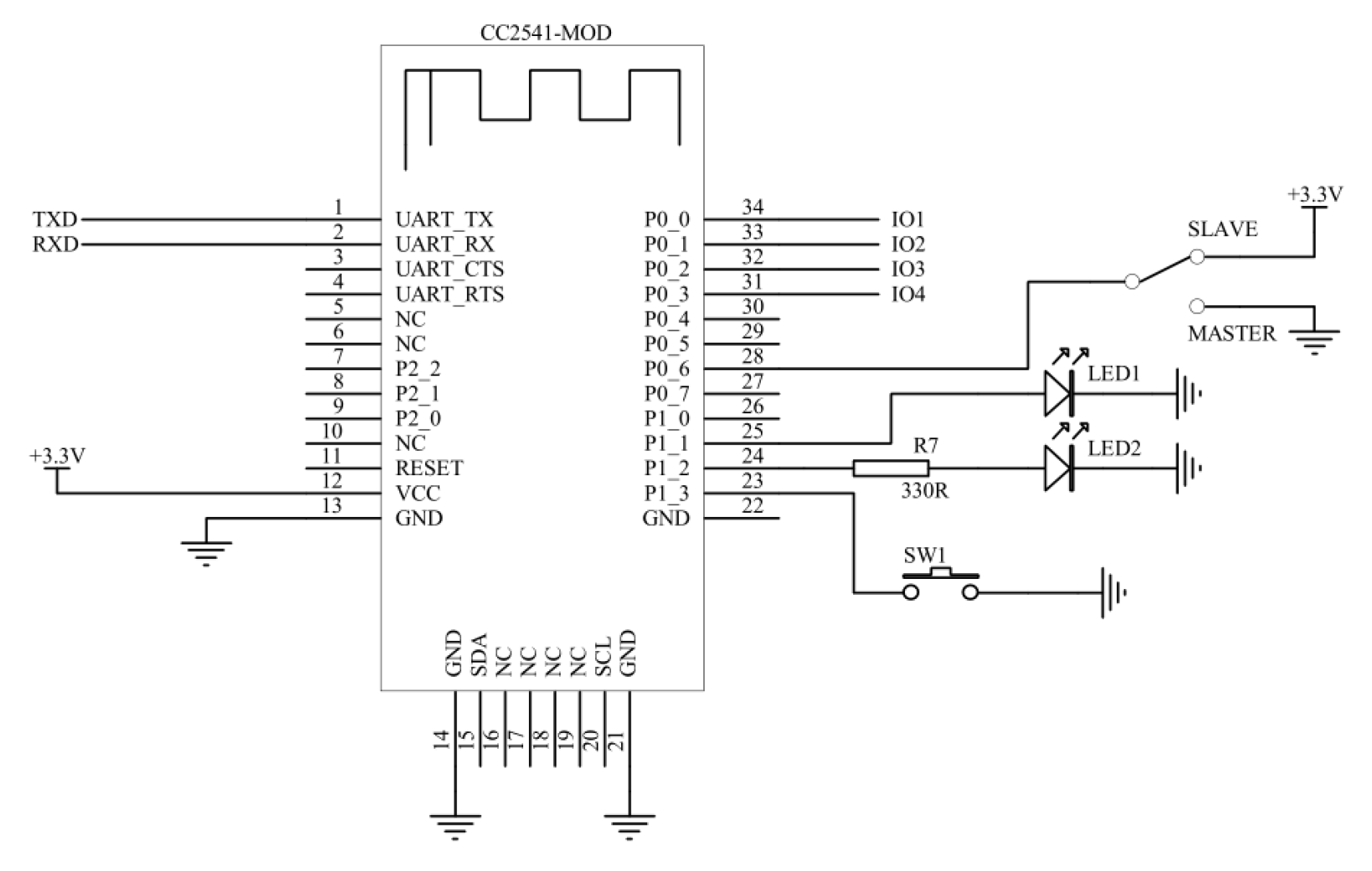 The Schematic On The Mouse Chip To Basic Stamp Circuit Is Below