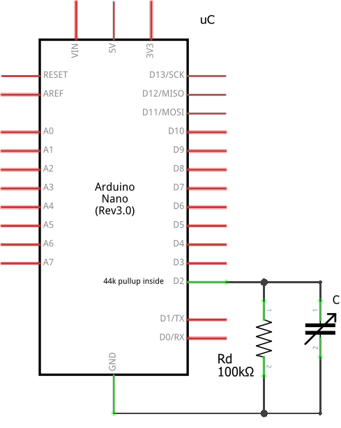 40 cent DIY pressure sensor based on a capacitive principle | Arik